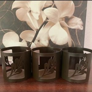 Pier One Candleholders- Set of 4